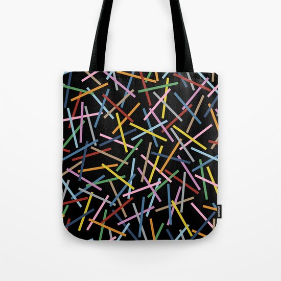 Kerplunk Black Tote Bag