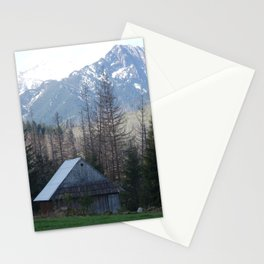 In the montains Stationery Cards