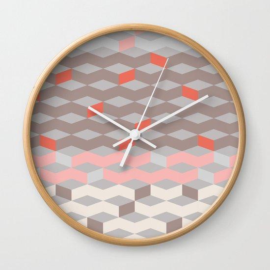 Pattern Collection  Wall Clock