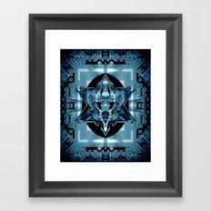 Blue Star Law* Framed Art Print