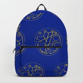 """I love you."" - Circular Gallifreyan Backpack"