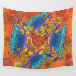 Dragondala Fall Wall Tapestry