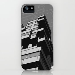Southbank Flats iPhone Case