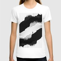 leaves T-shirts featuring White Isolation by Stoian Hitrov - Sto