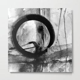 Enso Of Zen No.4N by Kathy Morton Stanion Metal Print