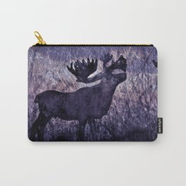 In The Woodlands, Far Far Away (purple version) Carry-All Pouch