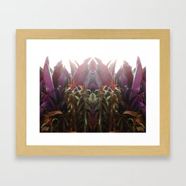 BEETROOT QUEEN Framed Art Print