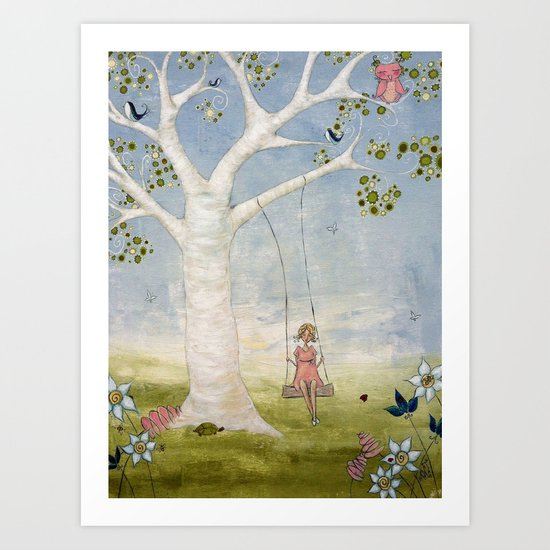 The Enchanted World of Ila Grace Art Print