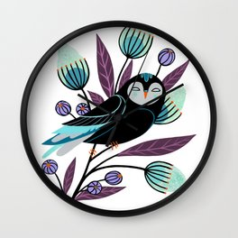 Branch and Bloom Wall Clock
