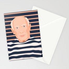 Pablo Picasso portrait Stationery Cards