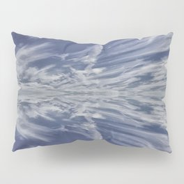 Reflective Clouds Pillow Sham