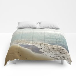 beauty and the beach Comforters