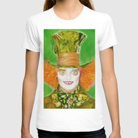 mad hatter T-shirts featuring Hatter by Aliece Carney