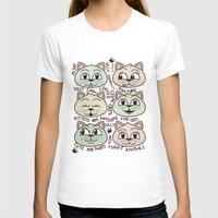 kittens T-shirts featuring Kittens by Artificial primate