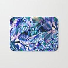 Blue Sapphire Gem Bath Mat
