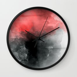 love is not just smoke Wall Clock
