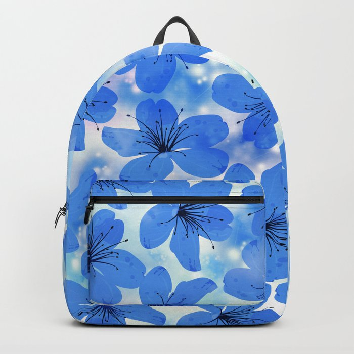 Floral Pattern A Backpack