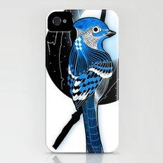 Blue Bird iPhone (4, 4s) Slim Case