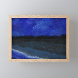 First Frost - In the Midst of Night Framed Mini Art Print