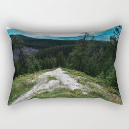 Mountaineering Zebra Rectangular Pillow