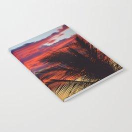 pomegranate sunset Notebook