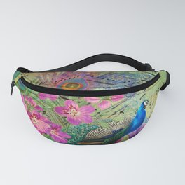 Feather Peacock 18 Fanny Pack