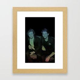 Friends by Ed Sheeran- Larry  Framed Art Print