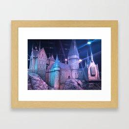 Hogwarts Model Framed Art Print
