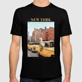 Alpaca in New York T-shirt