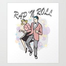 "Rap ""N Roll Art Print"