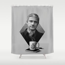 The blogging army doctor Shower Curtain