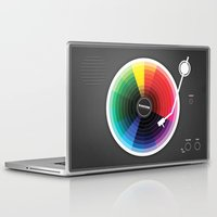 sound Laptop & iPad Skins featuring Pantune - The Color of Sound by Davies Babies