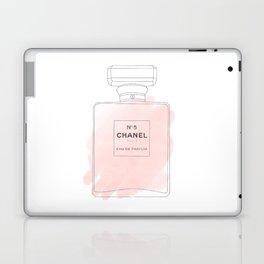 pink watercolor perfume Laptop & iPad Skin