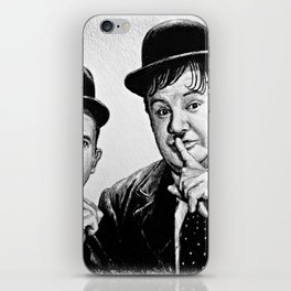 Another Fine Mess iPhone Skin