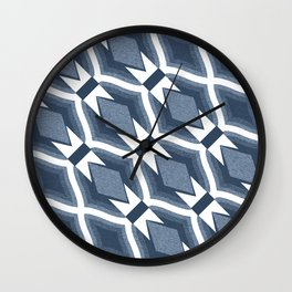 Diamond Patternplay Wall Clock