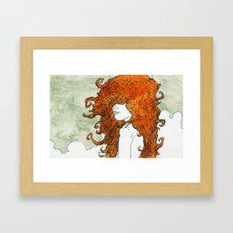 Postcard to a Lover Framed Art Print