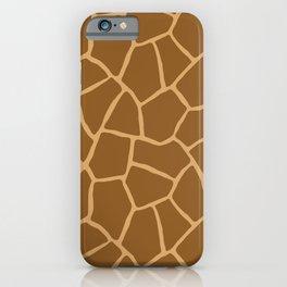 Giraffe Animal Print iPhone Case