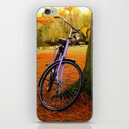 Vondelpark in the Fall pt 2 iPhone Skin
