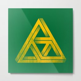 Penrose Triforce Metal Print