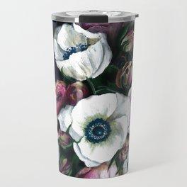 Bouquet Of Dreams Acrylic Painting Travel Mug