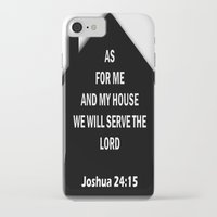 verse iPhone & iPod Cases featuring Bible verse by cmphotography