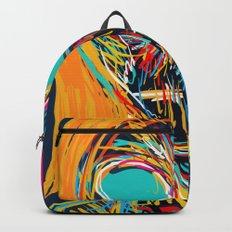 I'm not scared street art graffiti portrait Backpack