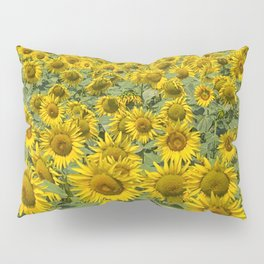 SUNFLOWERS Pillow Sham