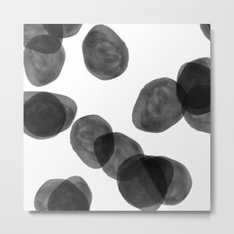 black balls Metal Print