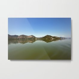 Skadar Lake . Montenegro. Metal Print