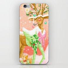 Reindeer Before Christmas iPhone & iPod Skin