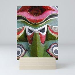 Totem Face Mini Art Print