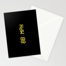 88 mph - Back to the future Stationery Cards