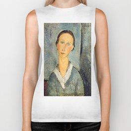 "Amedeo Modigliani ""Girl in a Sailor's Blouse"" Biker Tank"