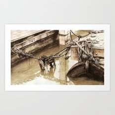 Fisherman's Knot Art Print